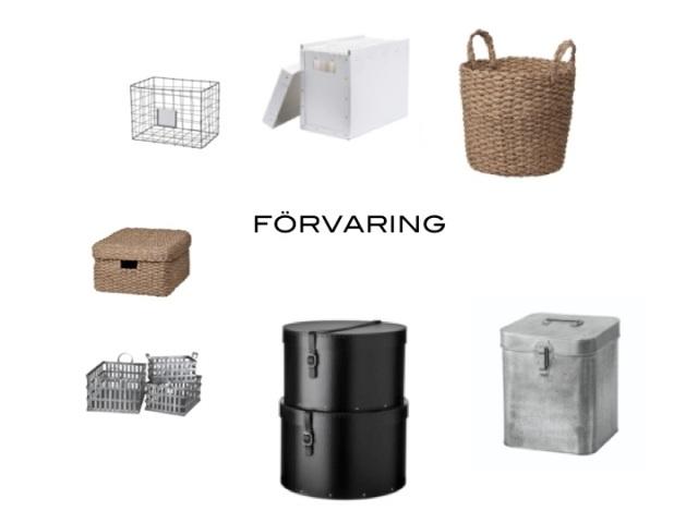 granit organisering förvaring trådkorg arkivmapp flätad korg hattaskar plåtlåda