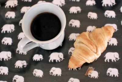 svenskt tenn, elefanter, croissant