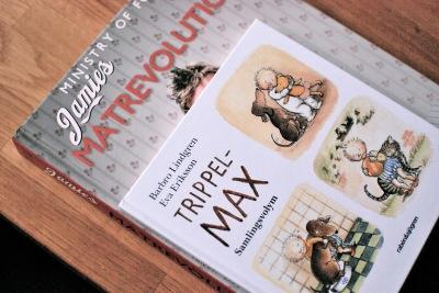 bokrea, jamies matrevolution, boktips, barnbok, trippel Max, kokbok